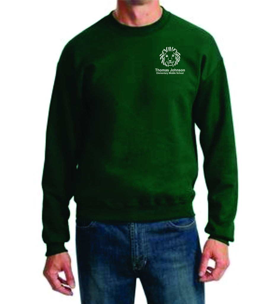 TJMS Adult Crewneck Sweatshirt (EMBROIDERED)