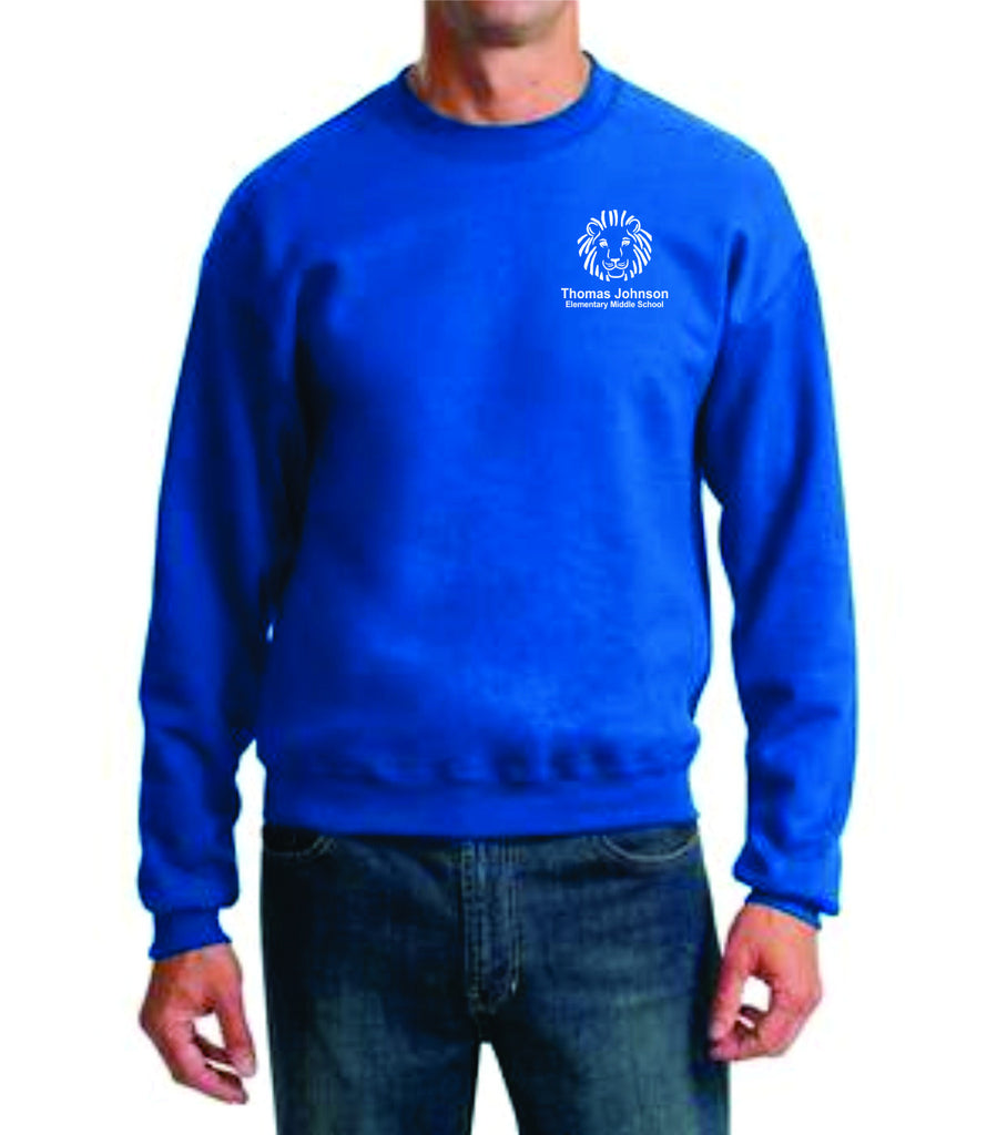 TJES Adult Crewneck Sweatshirt (EMBROIDERED)