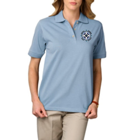 DHHS Staff Ladies Short Sleeve Polo