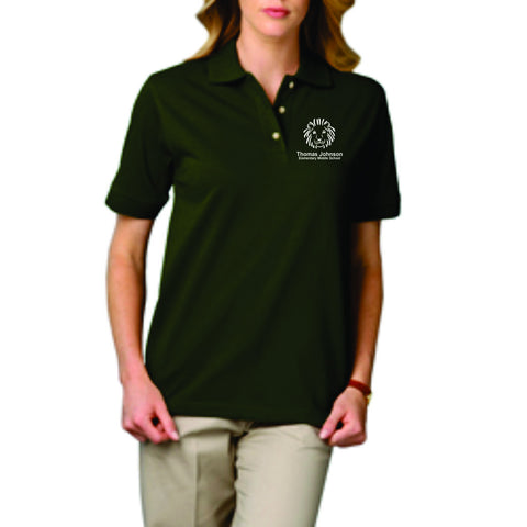 TJMS Ladies Short Sleeve Polo (EMBROIDERED)