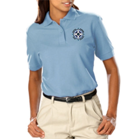 DHHS Ladies Short Sleeve Value Polo