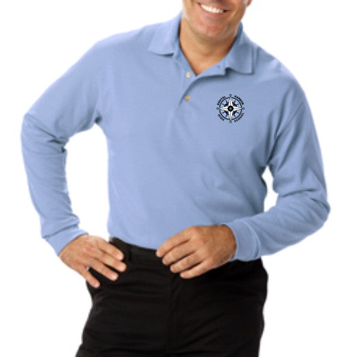 DHHS Men's Long Sleeve Polo