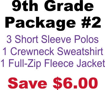 DHHS 9th Grade Package #2