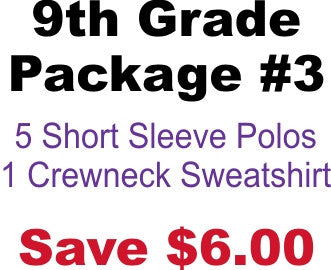 DHHS 9th Grade Package #3