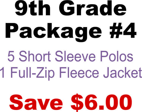 DHHS 9th Grade Package #4