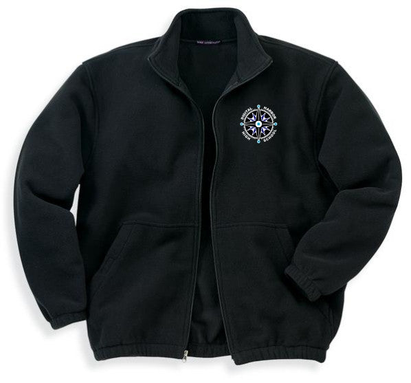 DHHS Men's Fleece Full-Zip Jacket