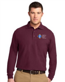 ACCE Men's Long Sleeve Value Polo (Screeen Printed)