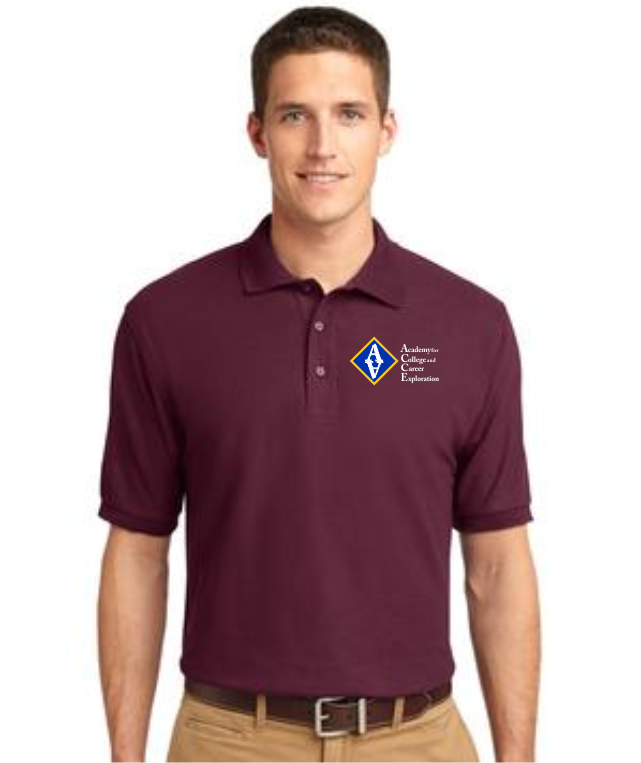 ACCE Men's Short Sleeve Value Polo (Screen Printed)