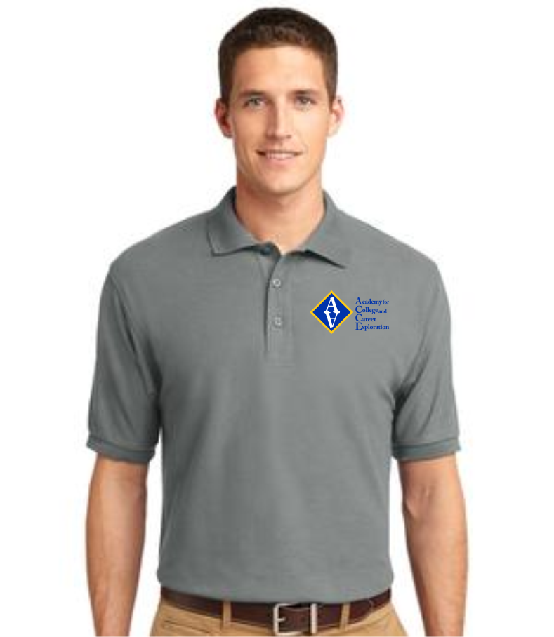 ACCE High Men's Short Sleeve Value Polo (Screen Printed)