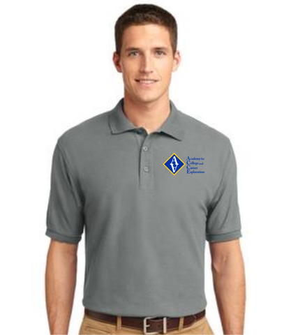 ACCE High Men's Short Sleeve Value Polo (Embroidered)