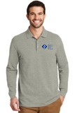 ACCE High Men's Long Sleeve Polo (Embroidered)