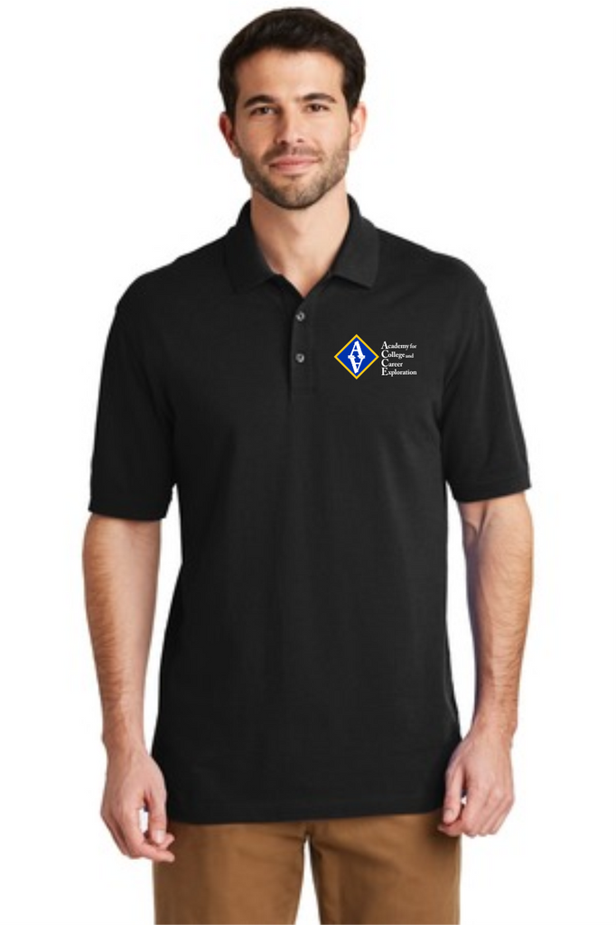 ACCE Staff Men's Short Sleeve Polo (Embroidered)