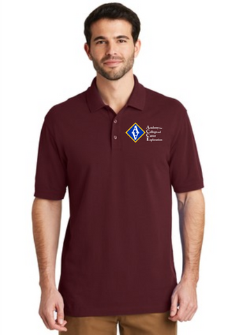 ACCE Men's Short Sleeve Polo (Screen Printed)