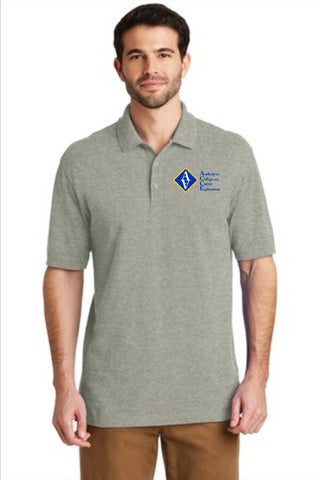ACCE High Men's Short Sleeve Polo (Screen Printed)