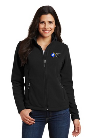 ACCE Ladies Full Zip Fleece Jacket (Embroidered)