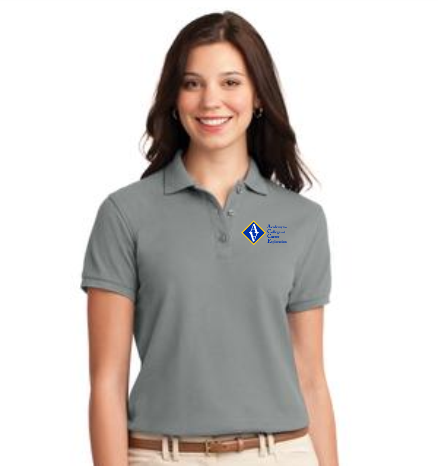 3cc001365 ACCE High Ladies Short Sleeve Value Polo (Screen Printed) – Allena ...
