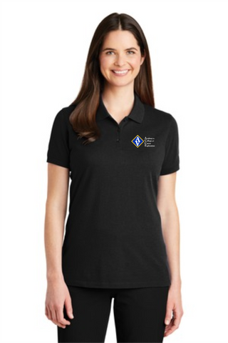 ACCE Staff Ladies Short Sleeve Polo (Embroidered)