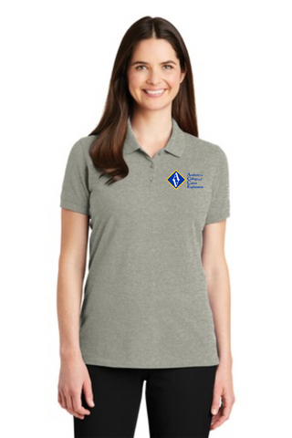 ACCE High Ladies Short Sleeve Polo (Screen Printed)