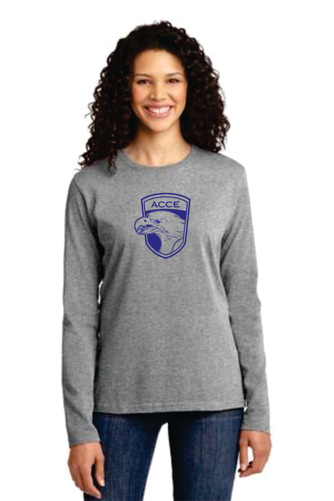 ACCE High Ladies Long Sleeve T-shirt (Screen Printed)