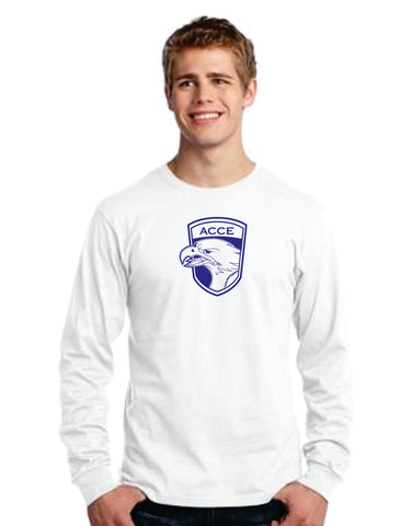ACCE Unisex Adult Long Sleeve T-shirt (Screen Printed)