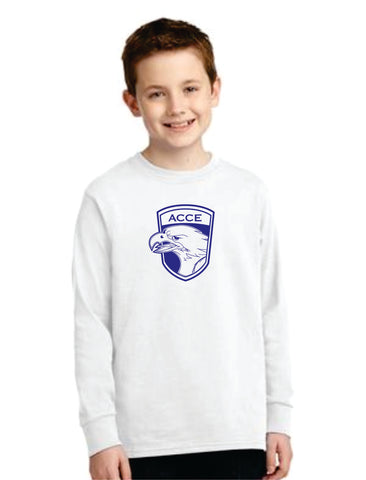 ACCE Youth Long Sleeve T-shirt (Screen Printed)