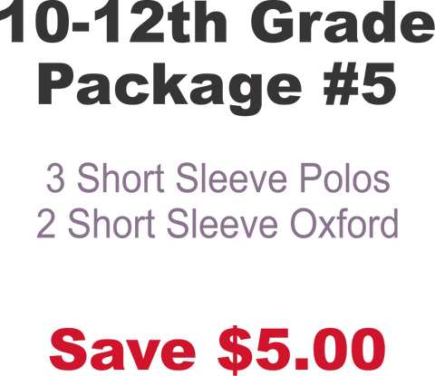 DHHS 10-12th Grade Package #5