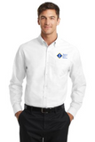 ACCE Staff Men's Long Sleeve Oxford (Embroidered)