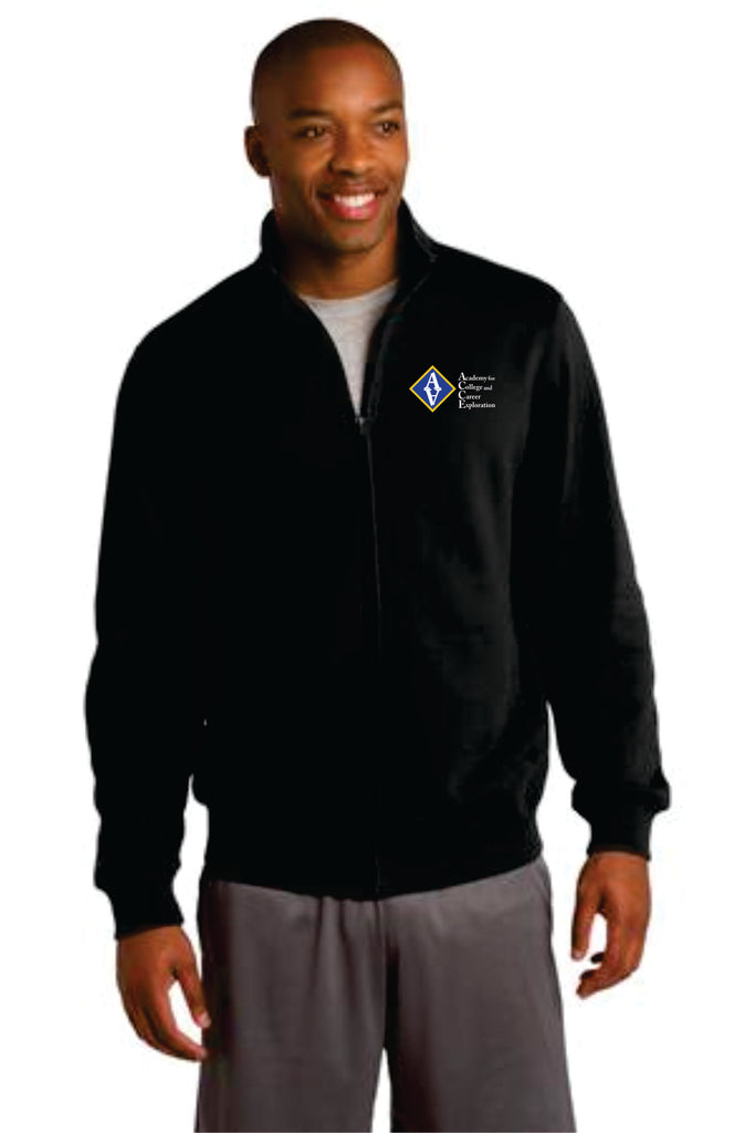 ACCE Adult Full Zip Sweatshirt (Embroidered)