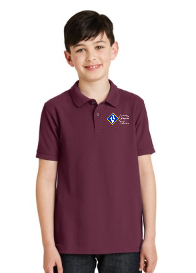 ACCE Youth Short Sleeve Value Polo (Embroidered)