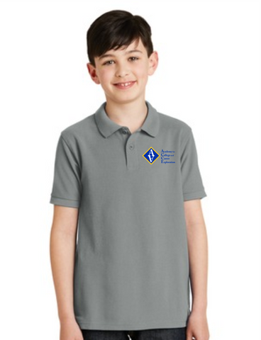 ACCE High Youth Short Sleeve Value Polo (Embroidered)