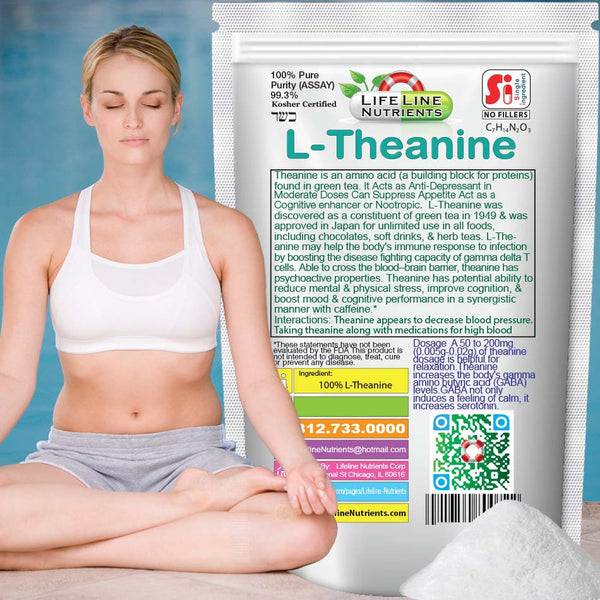 L-THEANINE POWDER - FREE SHIPPING