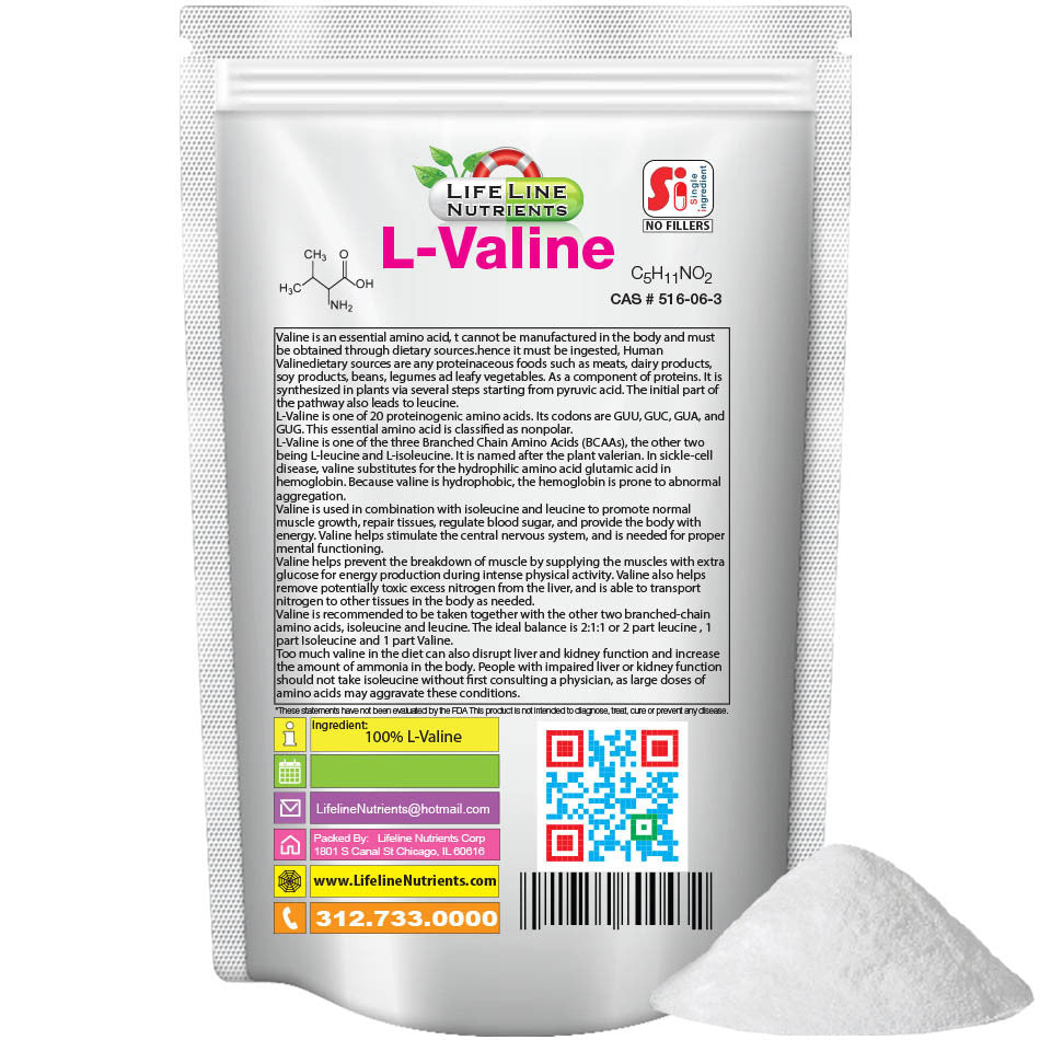 L-Valine Powder - Free Shipping