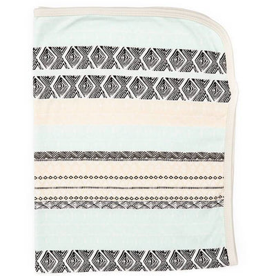 Aztec Print | Organic Cotton Swaddle Blanket - Buffalo & Bear