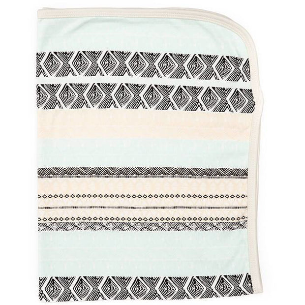 Aztec Organic Cotton Baby Blanket - Buffalo & Bear