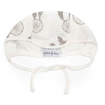Dreamcatcher Print | Organic Cotton Baby Bonnet - Buffalo & Bear