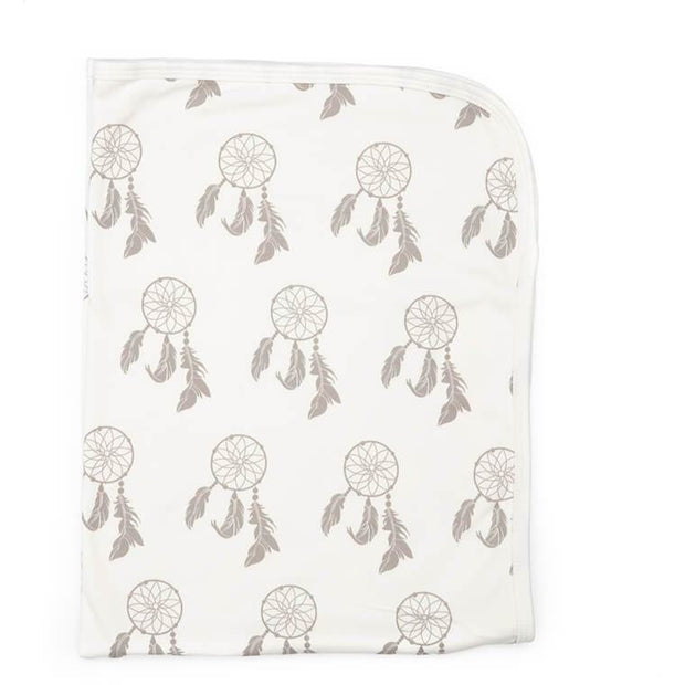 Dreamcatcher Print | Organic Cotton Swaddle Blanket - Buffalo & Bear