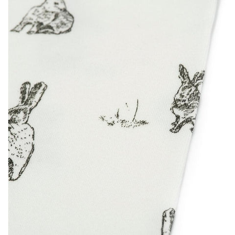 Rabbit Print | Organic Cotton Leggings - Buffalo & Bear