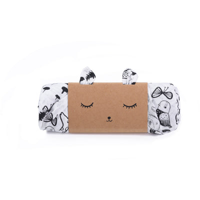 Wild Print | Organic Cotton Muslin Swaddle Blanket - Buffalo & Bear