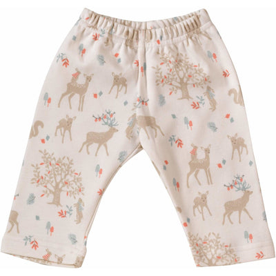 Woodland Deer Print | 100% Organic Cotton Leggings - Buffalo & Bear