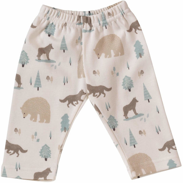 Wolf Leggings Print | 100% Organic Cotton Leggings - Buffalo & Bear