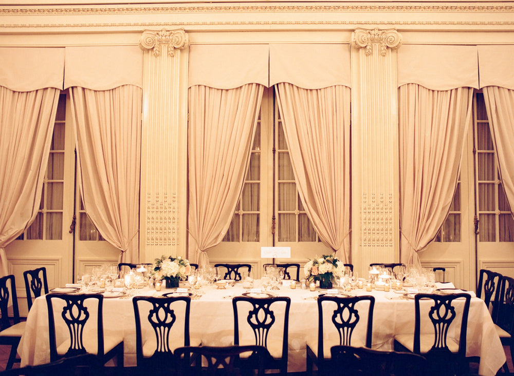 Intimate Wedding Lotos Club NYC featured in Style Me Pretty Anissa Rae Flowers
