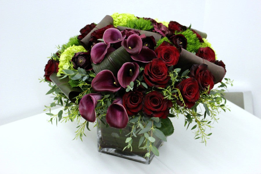 Winter Flower Centerpieces and Gifts NYC Florist Anissa Rae Flowers