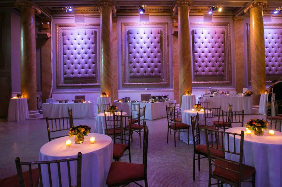 Wedding Reception at Capitale NYC by Anissa Rae Flowers