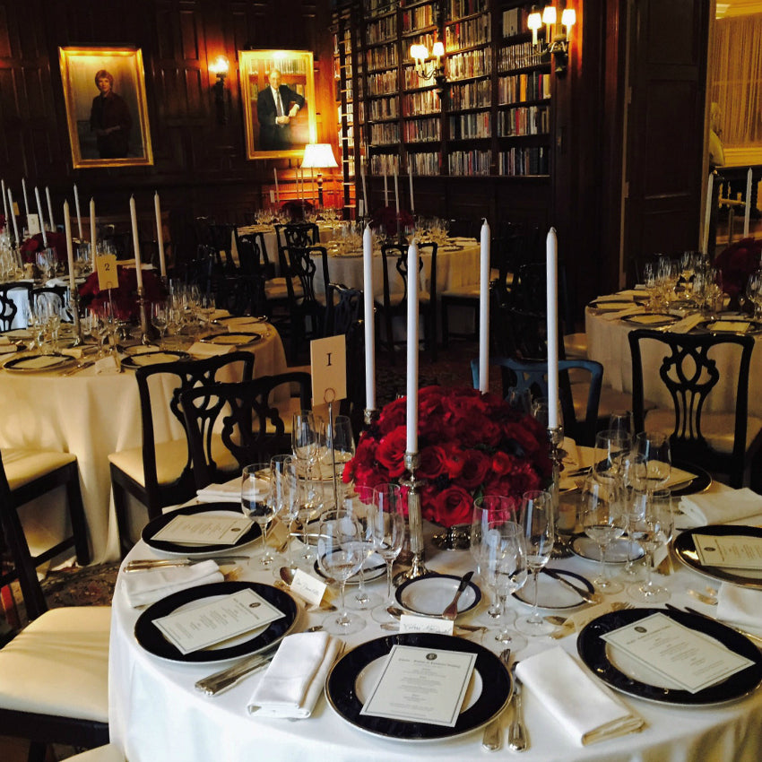 Luxury Fall Wedding Centerpieces and Tall Candles NYC Wedding Florist Anissa Rae Flowers