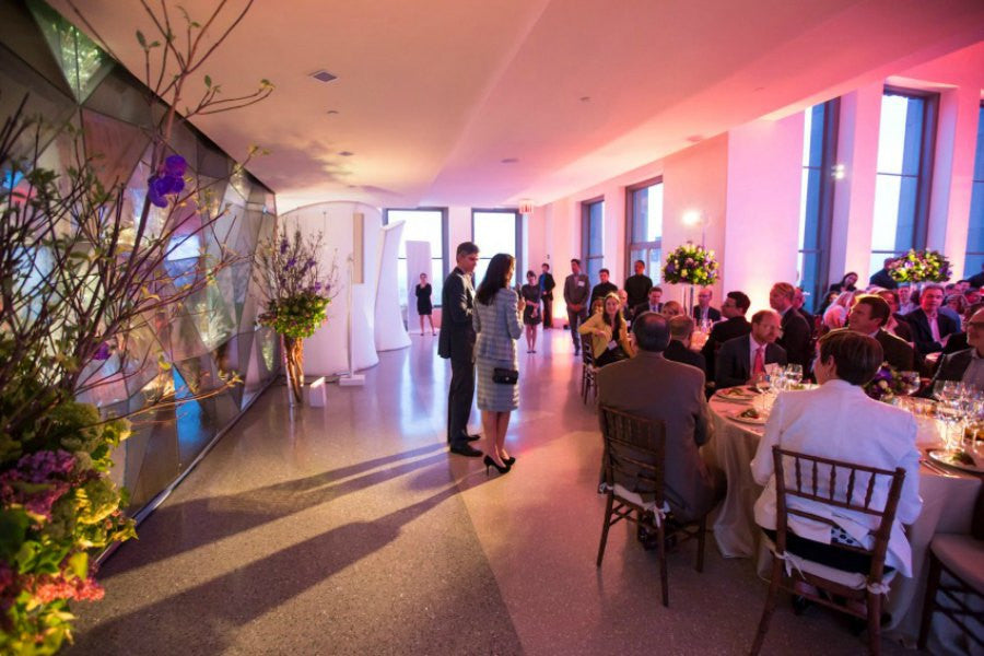 Top of the Rock Event Flowers by Anissa Rae Flowers NYC