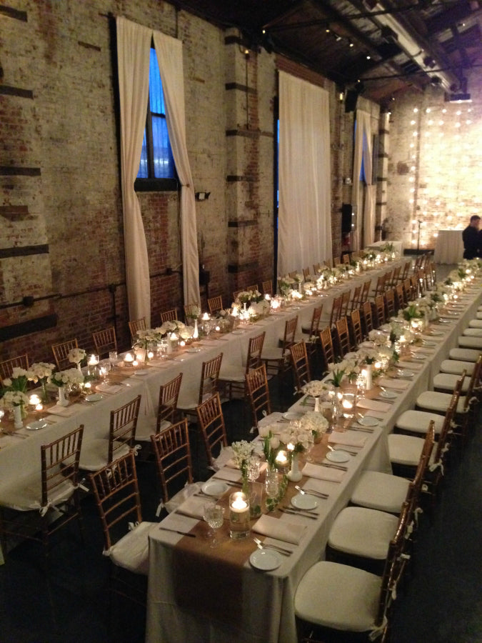 Green Building Winter Wedding NYC Florist Anissa Rae Flowers