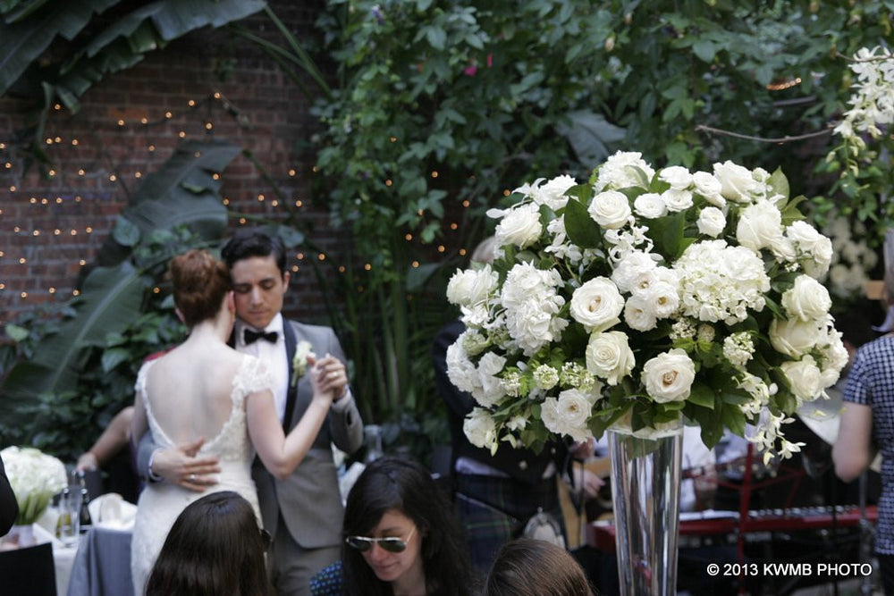 Lush Romantic Garden Wedding NYC Florist Anissa Rae Flowers