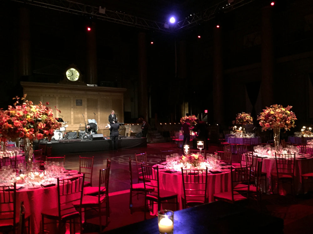 Upscale NYC Wedding Designer Capitale NYC Fall Wedding Anissa Rae Flowers