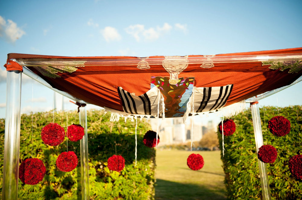 Jewish Wedding Florist Chuppah by Anissa Rae Flowers NYC Florist