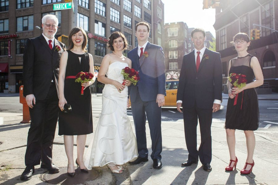 Downtown NYC Wedding Florist Anissa Rae Flowers Tribeca